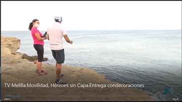 Un acto de valor hace merecedores a Alvaro García y a Julio Gutiérrez, de la Condecoración Gran Cruz Azul de Emergencias
