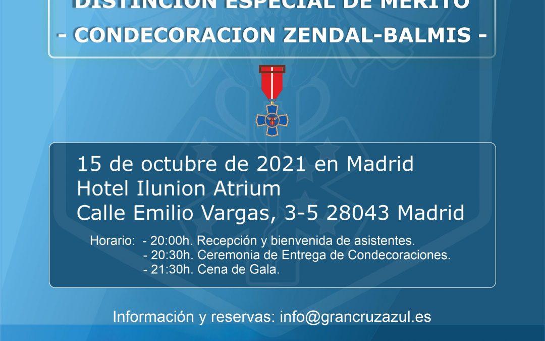 Acto de Entrega de Condecoraciones Especiales Zendal-Balmis